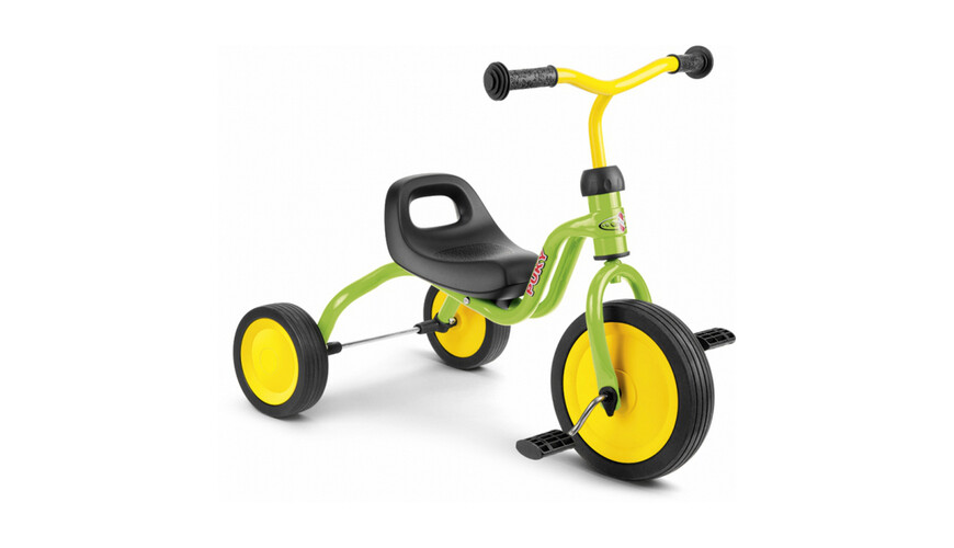 Puky Tricycle Fitsch - Tricycle - jaune/vert
